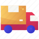 delivery, logistic, service, shipping, truck icon