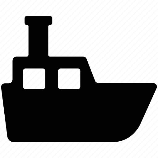 boat, cargo, logistic, ship, shipping icon
