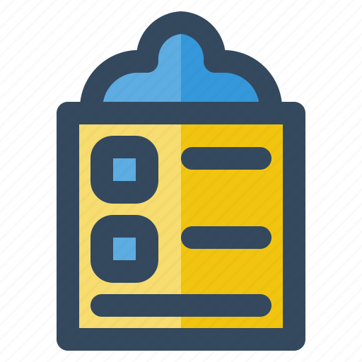 business, checklist, delivery, logistic, money, shipping icon