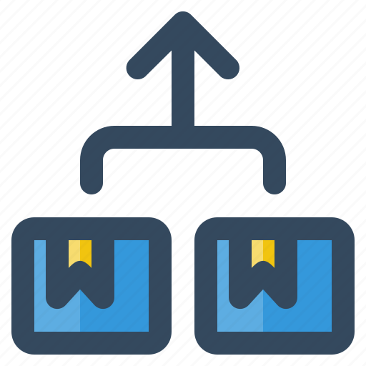business, delivery, hierarchy, logistic, money, shipping icon