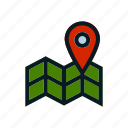 address, global, location, logistic, map, shipping, spot icon