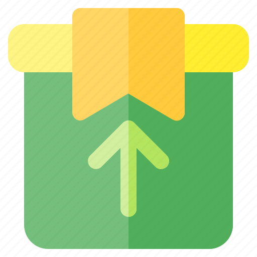 box, business, delivery, logistic, money, shipping, up icon