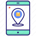 delivery, location, parcel, tracking