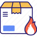 danger, fire, flame, flammable, hot