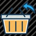 ecommerce, refund, reorder, return, shopping basket, shopping cart