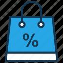 discount, fashion, handbag, offer, sale, shopping bag icon