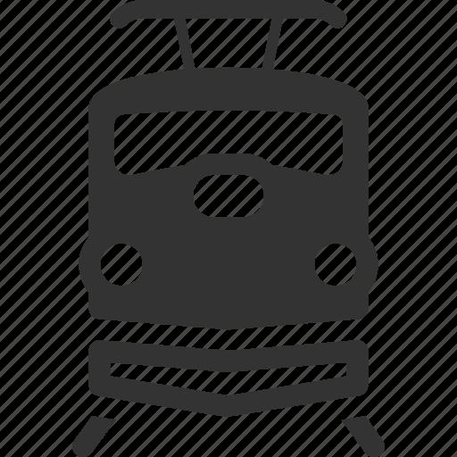delivery, logistics, railway, train icon