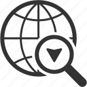gps, location, logistics, tracking icon