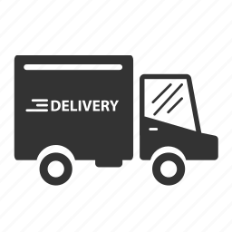 delivery, logistic, service, transport, truck, vehicle icon