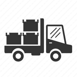 box, delivery, logistic, transport, truck, van, vehicle icon