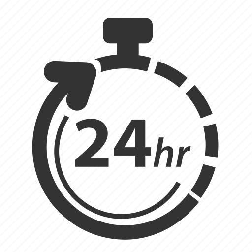 availability, clock, customer support, hour, hours, support, time icon