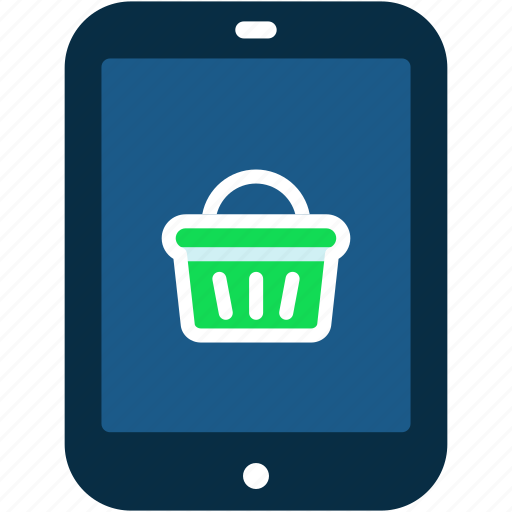 ecommerce, online, shop, shopping, tablet icon