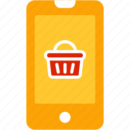 ecommerce, online, phone, shop, shopping icon