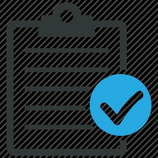 approve, checklist, clipboard, ok icon