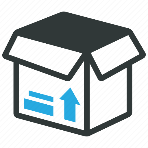 box, cargo, logistics, package, packing, product icon