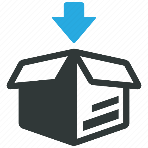 box, packaging, packing, product icon