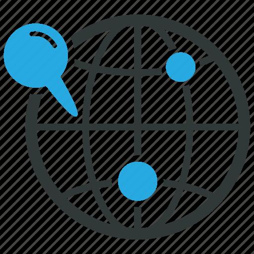 gps, location, pin icon