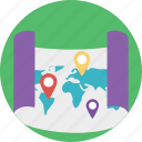 delivery location search, destination address finder, gps, map and destination, placeholder