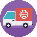 international delivery, logistic service, overseas package transfer, supply chain, transportation logistics