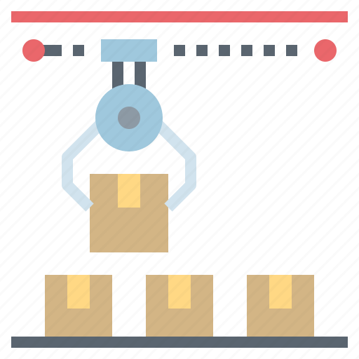 conveyor, industry, logistics0a, shipping, transportation icon