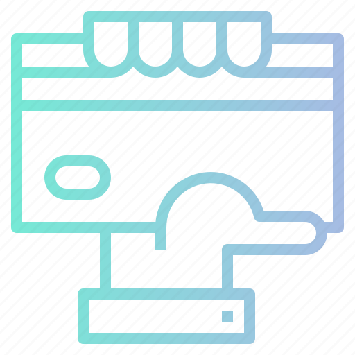 bank, card, commerce, credit, method, payment, shopping icon
