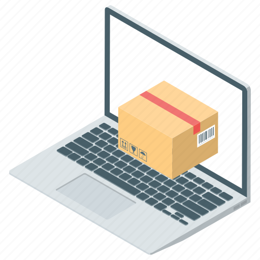 logistic, online delivery, online package, package, parcel icon