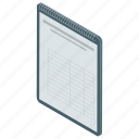 checklist, documents, list, paper, plan list, register, task list icon