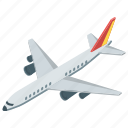 aeroplane, air transport, air travel, airfreight, airplane icon