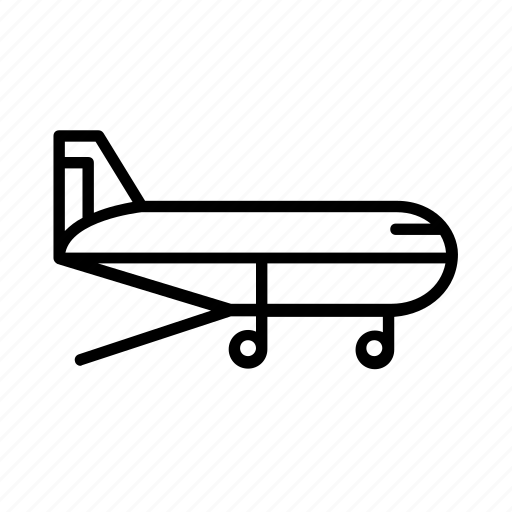 air, cargo, freight, plane icon