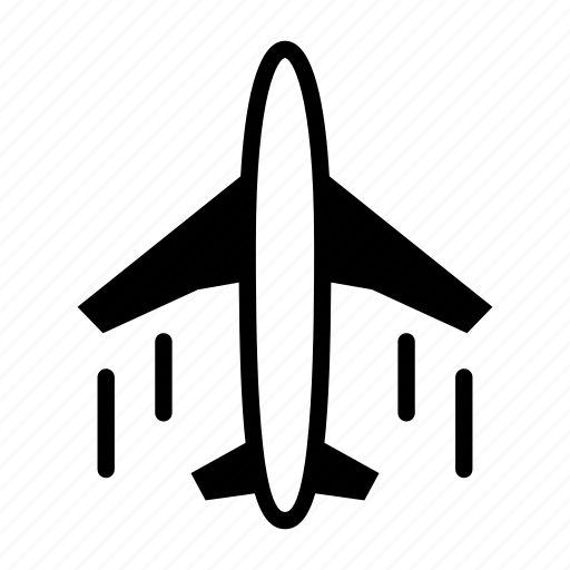 Airplane, plane, transportation icon - Download on Iconfinder