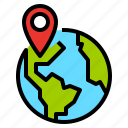 destination, location, map, point icon