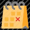 calendar, date, month, plan, schedule icon