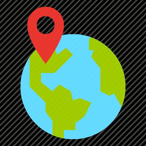 Destination, location, map, point icon - Download on Iconfinder