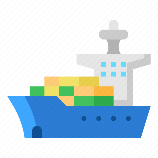 freight, logistic, sea, transport icon