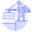 container, crane, international, logistic, port, service, shipping, supply, terminal, transport