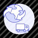 service, logistic, ground, truck, cargo, shipping, supply, worldwide, international, transport