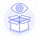 eye, inventory, logistic, management, package, scan, service, view, warehouse