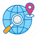 geolocation, gps, international shipping, location tracking, order tracking, search location, tracking icon