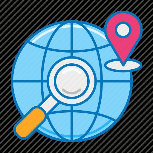 geolocation, gps, international shipping, location tracking, order tracking, search location, tracking icon