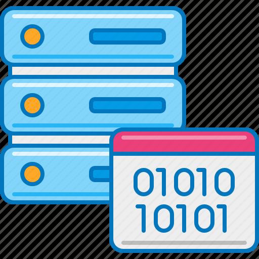 data, database management, database storage, information technology, it service, master data, server admin icon