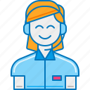 call center agent, call center operator, customer representative, customer service, customer support, helpline icon