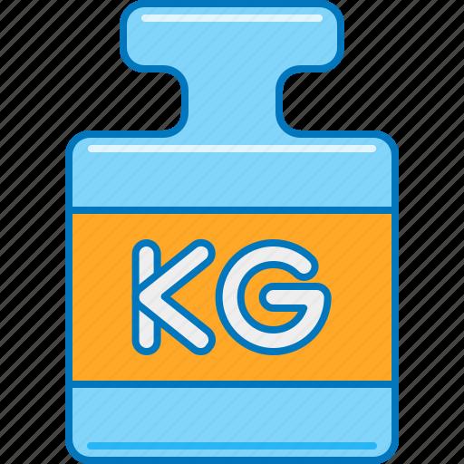 kg, kilogram, shipping weight, volumetric weight, weigh, weight, weight calculation icon