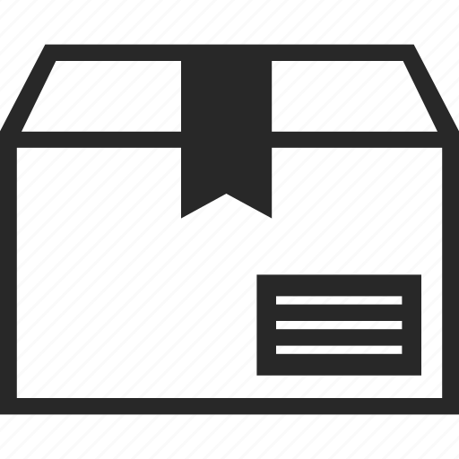 box, delivery, package, shipment icon