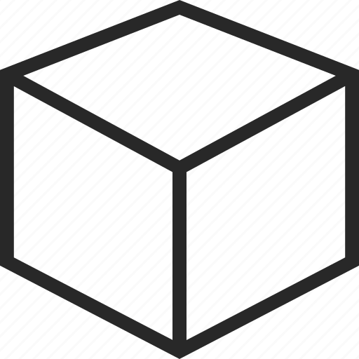 box, delivery, package, square icon