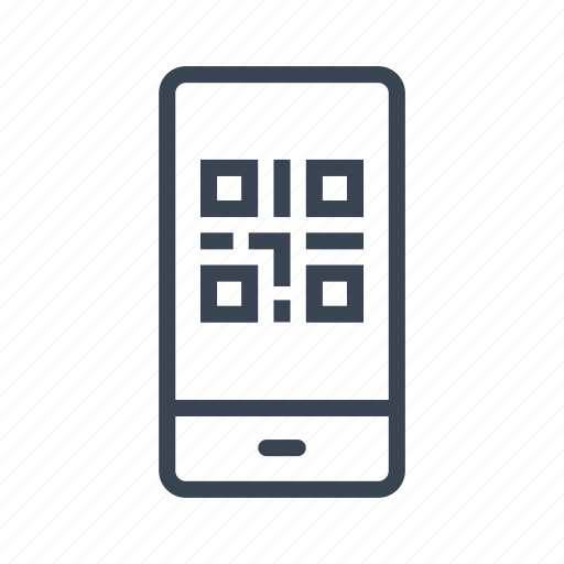 code, mobile, phone, qr, qrcode, smartphone icon