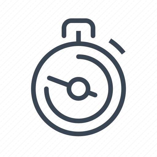 delivery, fast, logistics, shipping, stopwatch icon