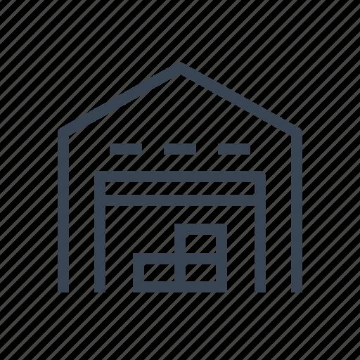 box, cardboard, logistics, warehouse icon