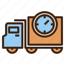 delivery, fast, logistics, shipping icon