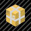 box, cargo, transportation, package, packaging, cartoon, transport