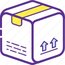 delivery box, delivery package, logistic delivery, package, parcel icon